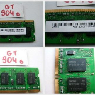 512MB RAM DDR2 200pol. Notebook Laptop Speicher KN5120B Ramriegel GS904