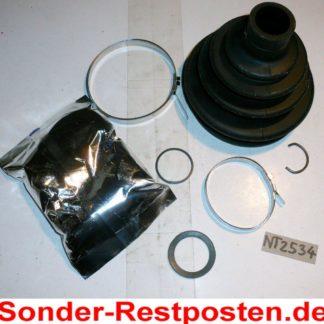 Achsmanschette Faltenbalgsatz PEX 8020-1 22555 NT2534