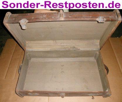 Alter grosser Koffer Reisekoffer Retro Deko Antik GL123