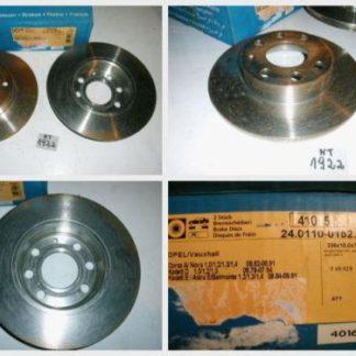 Bremsscheiben ATE 24.0110-0152.1 OPEL NT1922