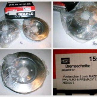 Bremsscheiben MAPCO 15530 MAZDA NT1736