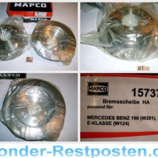 Bremsscheiben MAPCO 15737 Mercedes NT1706
