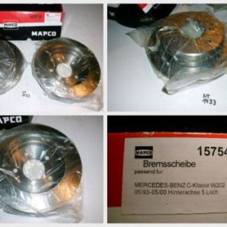 Bremsscheiben MAPCO 15754 MERCEDES NT1733