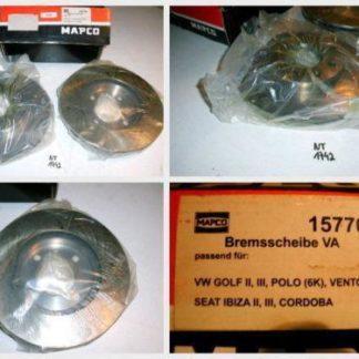 Bremsscheiben MAPCO 15770 SEAT NT1742