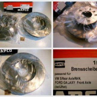 Bremsscheiben MAPCO 15828 VW NT1711