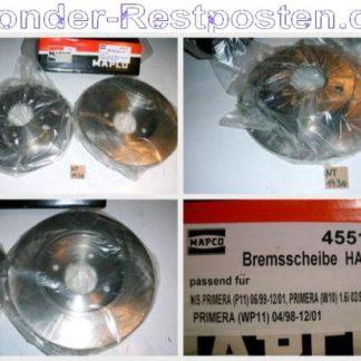 Bremsscheiben MAPCO 45511 NISSAN NT1730