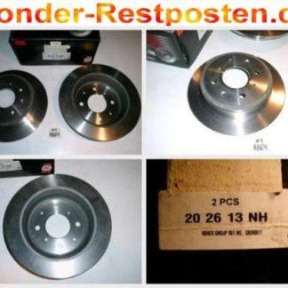 Bremsscheiben NK 202613 HONDA NT1864