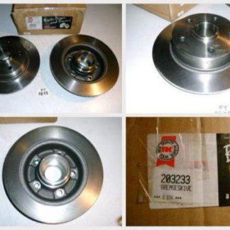 Bremsscheiben NK 203233 MAZDA NT1879