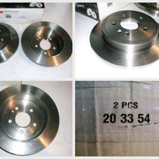 Bremsscheiben NK 203354 MERCEDES NT1886