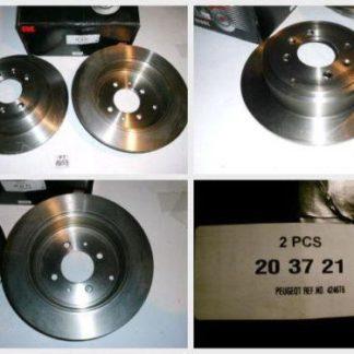 Bremsscheiben NK 203721 PEUGEOT NT1859