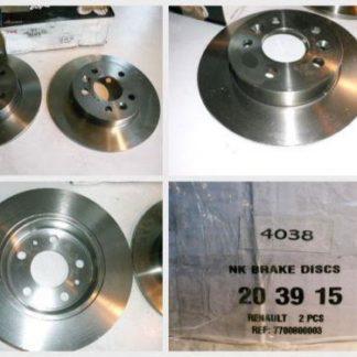 Bremsscheiben 203915 RENAULT NT1887