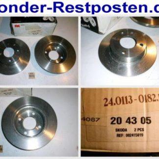 Bremsscheiben NK 204305 SKODA NT1872