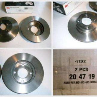 Bremsscheiben NK 204719 AUDI NT1884