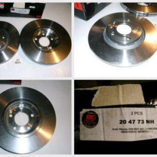 Bremsscheiben 204773 AUDI NT1874