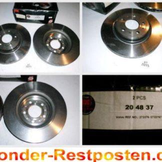 Bremsscheiben NK 204837 VOLVO NT1873