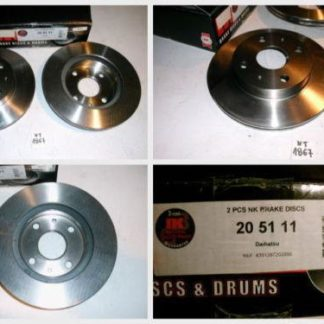 Bremsscheiben NK 205111 DAIHATSU NT1867