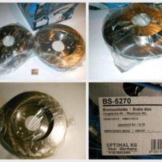 Bremsscheiben Optimal BS5270 MERCEDES NT1675