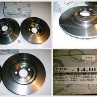 Bremsscheiben PEX 14.0013 140013 CITROEN NT1801