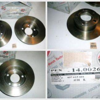 Bremsscheiben PEX 14.0026 140026 AUDI NT1844
