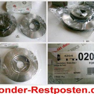 Bremsscheiben PEX 14.0206 140206 FORD NT1832