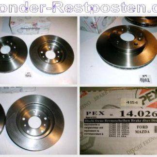 Bremsscheiben PEX 14.0269 140269 MAZDA NT1802