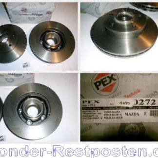 Bremsscheiben PEX 14.0272 140272 MAZDA NT1809