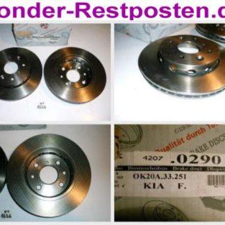 Bremsscheiben PEX 14.0290 140290 KIA NT1826