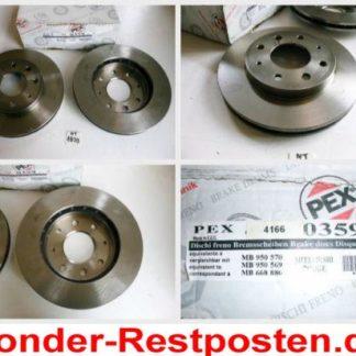 Bremsscheiben PEX 14.0359 140359 MITSUBISHI NT1833