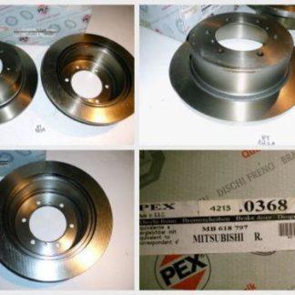Bremsscheiben PEX 14.0368 140368 Mitsubishi NT1831