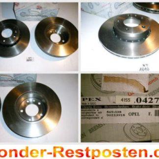 Bremsscheiben PEX 14.0427 140427 OPEL NT1810