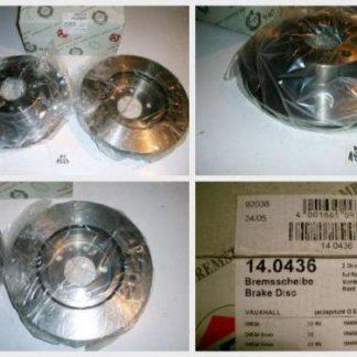 Bremsscheiben PEX 14.0436 140436 OPEL NT1823