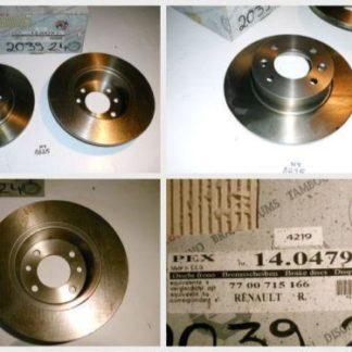 Bremsscheiben PEX 14.0479 140479 Renault NT1825