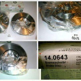 Bremsscheiben PEX 14.0643 140643 NT1807