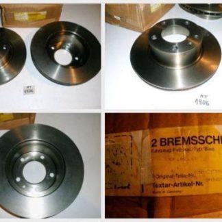 Bremsscheiben Textar 982000223 BMW NT1906
