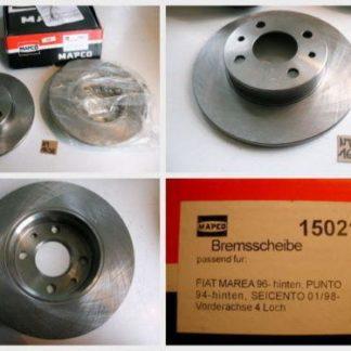 Bremsscheiben MAPCO 15021 FIAT NT1698