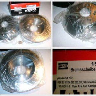 Bremsscheiben MAPCO 15800 Mercedes NT1684