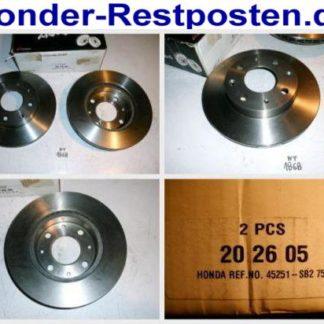Bremsscheiben NK 202605 HONDA NT1868