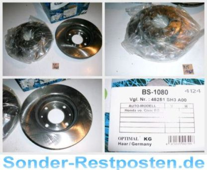 Bremsscheiben Optimal BS1080 HONDA NT1658