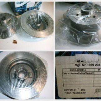 Bremsscheiben Optimal BS2170 OPEL NT1638