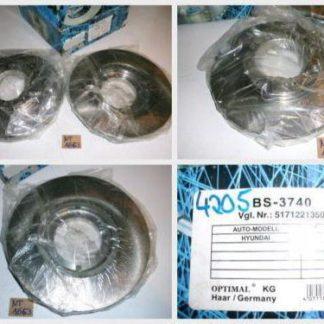 Bremsscheiben Optimal BS3740 HYUNDAI NT1663