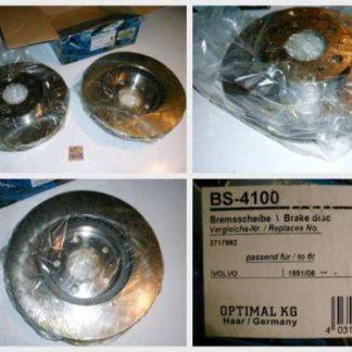 Bremsscheiben Optimal BS4100 VOLVO NT1659
