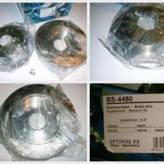 Bremsscheiben Optimal BS4480 ROVER NT1628