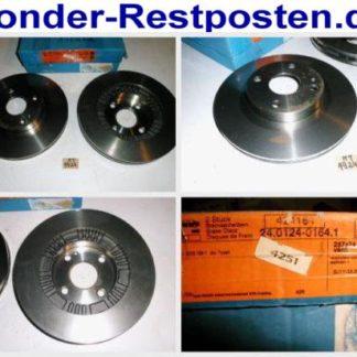 Bremsscheiben ATE 24.0124-0164.1 MAZDA NT1924