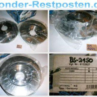 Bremsscheiben Optimal BS2150 FORD NT1664