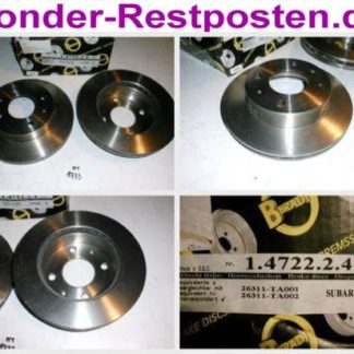 Bremsscheiben METZGER 1.0109.5.5 1010955 AUDI NT1772