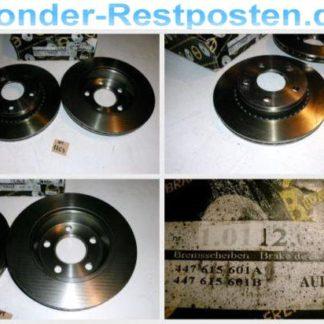 Bremsscheiben METZGER 1.0112.6.4 1011264 AUDI NT1763
