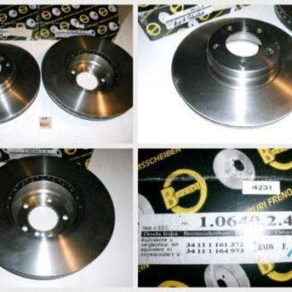 Bremsscheiben METZGER 1.0640.2.4 1064024 BMW NT1761
