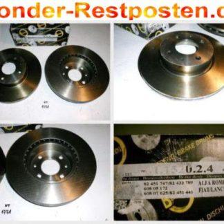 Bremsscheiben METZGER 1.1520.2.4 1152024 ALFA NT1771