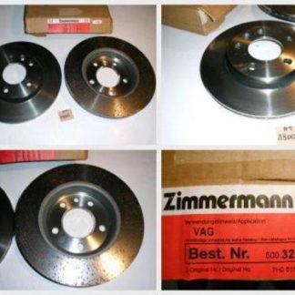 Bremsscheiben Zimmermann 600323200 VW NT1900