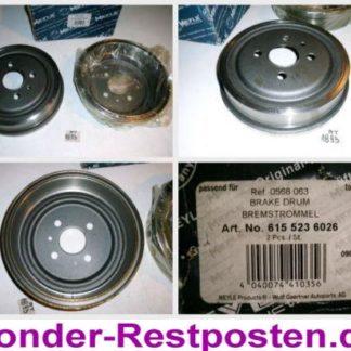 Bremstrommeln MEYLE 6155236026 OPEL NT1893